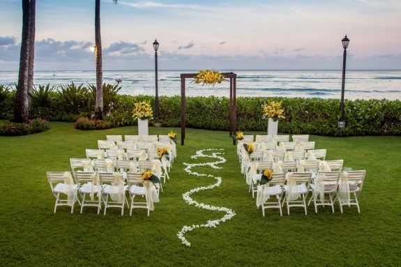 Moana Surfrider A Westin Resort Spa Weddings